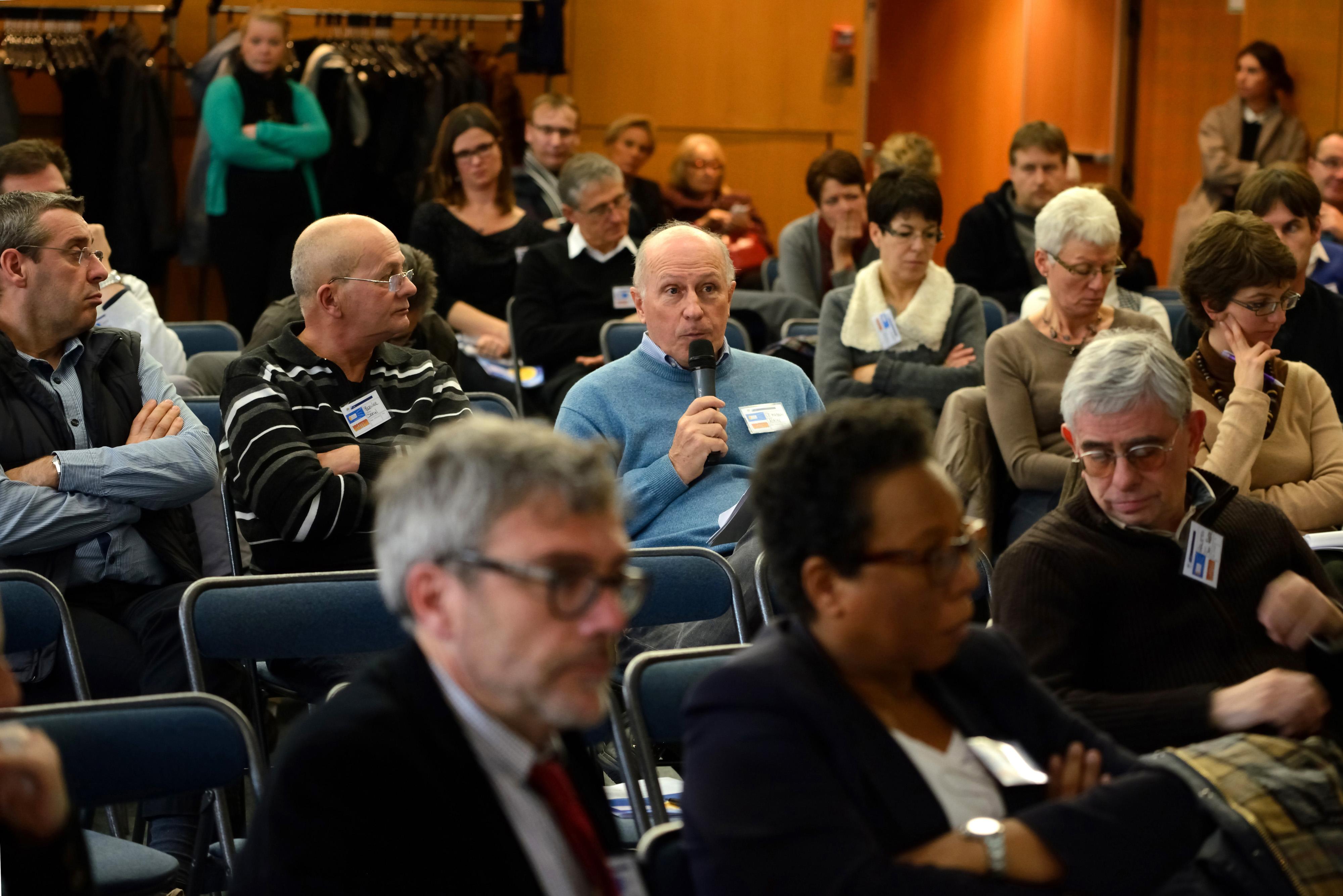 Journée inaugurale de l'Observatoire de Santé Sociale 27 novembre 2013 à Montreuil (Projet santé des électriciens et gaziers)