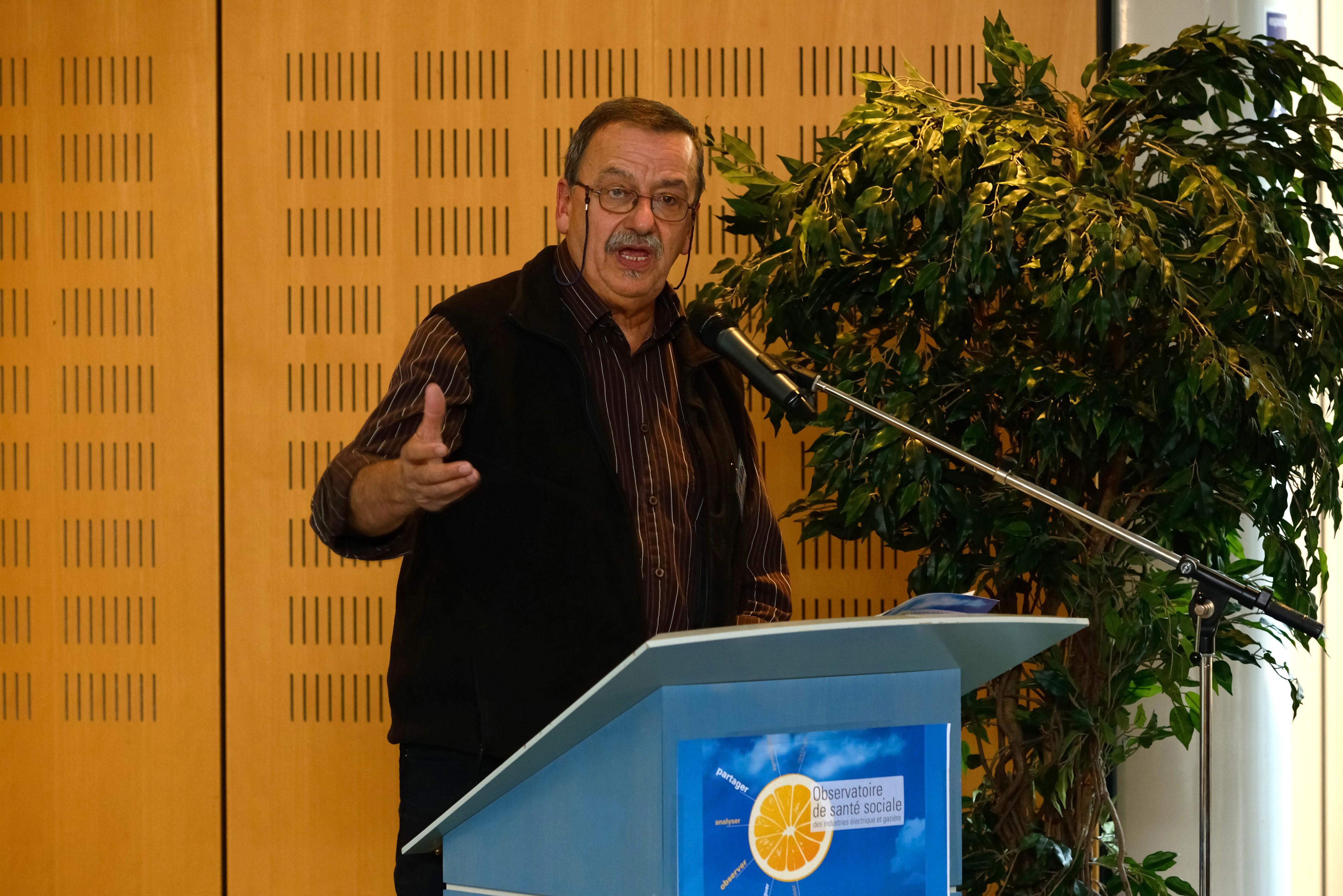 Journée inaugurale de l'Observatoire de Santé Sociale 27 novembre 2013 à Montreuil (Projet santé des électriciens et gaziers) Jean-Louis BARTHES