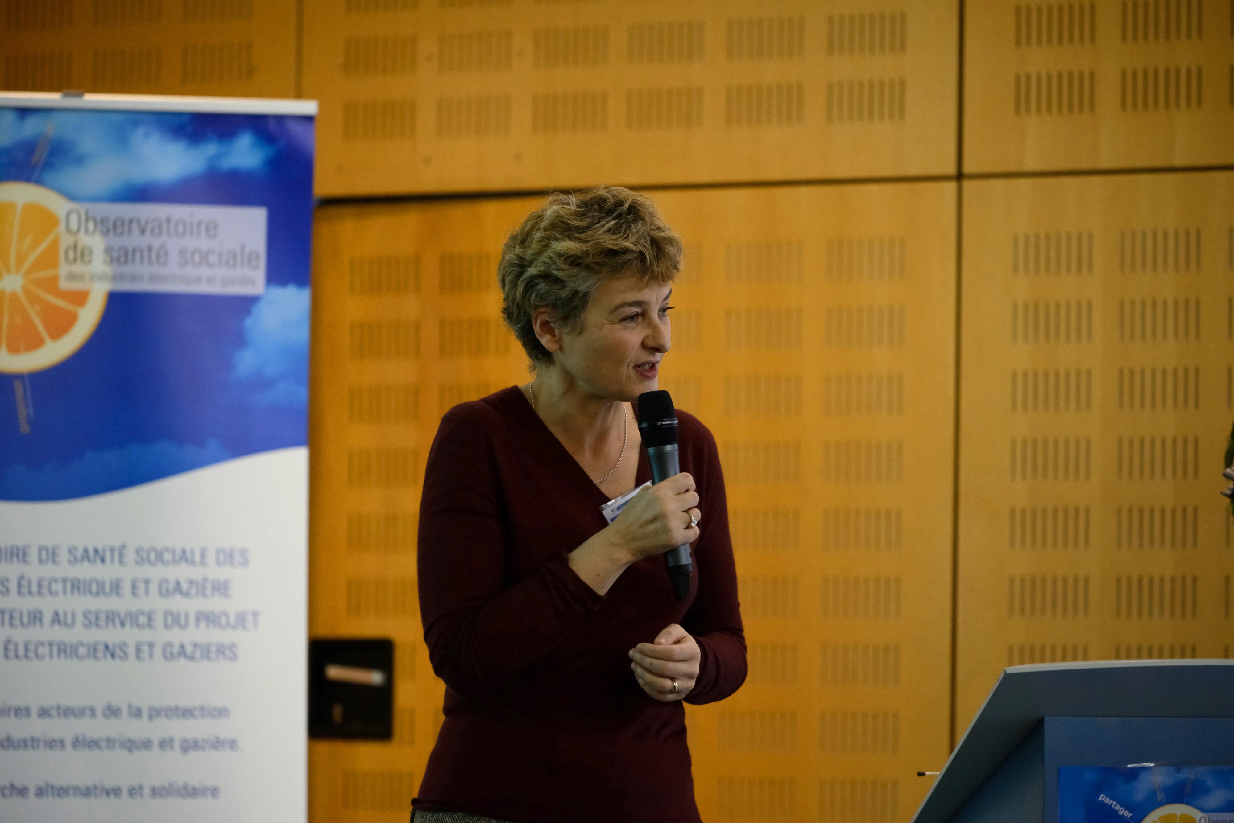 Journée inaugurale de l'Observatoire de Santé Sociale 27 novembre 2013 à Montreuil (Projet santé des électriciens et gaziers) Dr Marie ZINS (INSERM), médecin